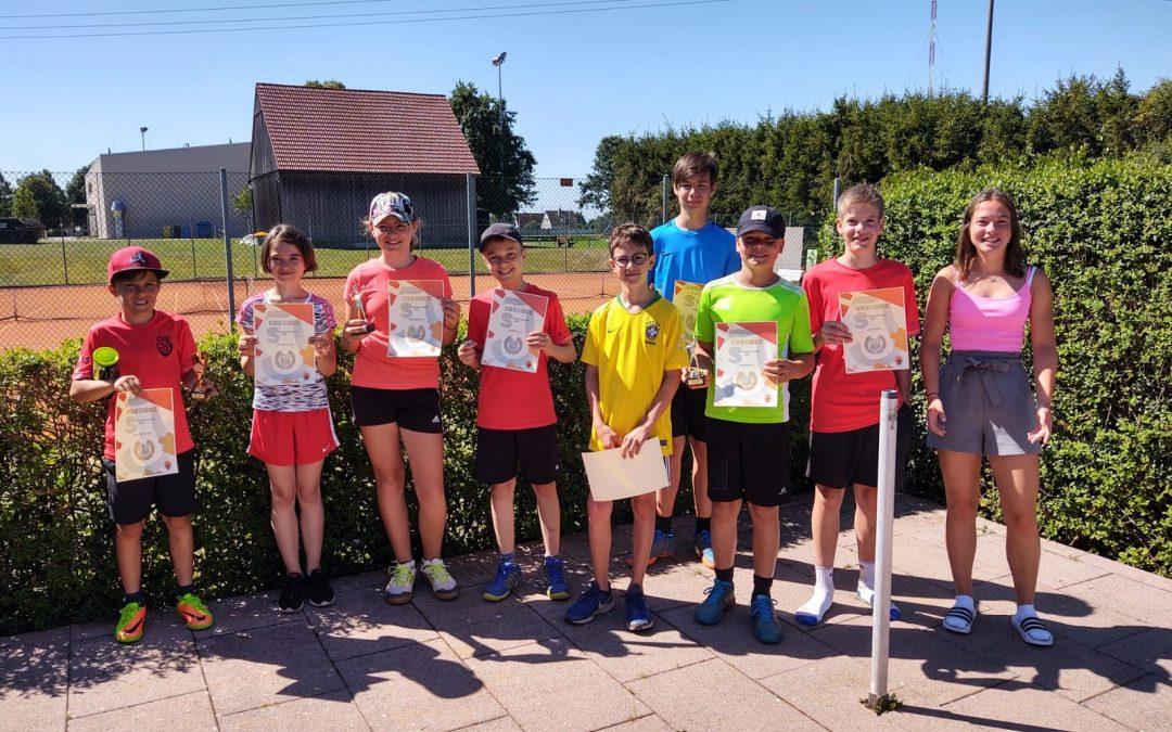 Jugend-Vereinsmeisterschaften beim SV Jungingen